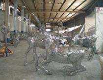 不锈钢镂空鹿RH7009